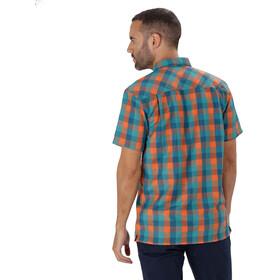 Regatta Kalambo III Kortærmet T-shirt Herrer orange/blå